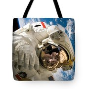 An Astronaut Mission Specialist Tote Bag