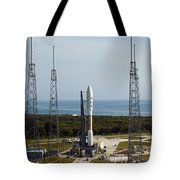 An Atlas V-551 Launch Vehicle At Cape Tote Bag