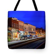 An Early Evening In Ashland Tote Bag