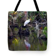 An Egrets World Tote Bag