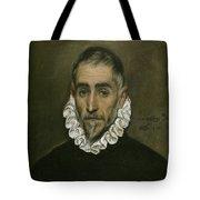 An Elderly Gentleman Tote Bag