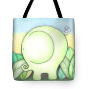 An Elephant For Erin Tote Bag