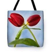An Embrace Of Tulips Tote Bag