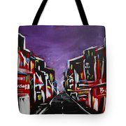 An Empty Street At 3 A.m. Tote Bag