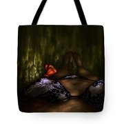 An Enchanted Visit Tote Bag