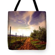 An Evening By The Orchard Tote Bag