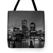 An Evening In Boston Tote Bag