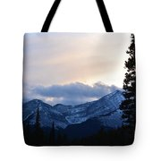 An Evening In The Mountains Tote Bag