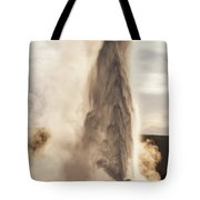 An Evening With Old Faithful Tote Bag