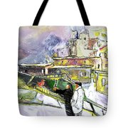 An Exotic Guest In Spain Tote Bag