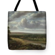 An Extensive Wooded Landscape Tote Bag
