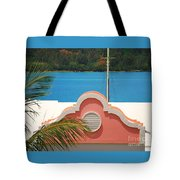 An Eye Brow Roof At Grotto Bay Tote Bag