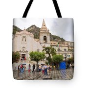 An Iffy Day In Taormina Tote Bag