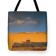 An Illusion Created By A Reflection Tote Bag