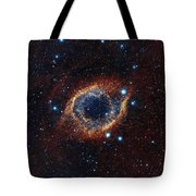A Look In Infrared At The Helix Nebula Tote Bag
