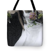 An Intimate Moment At The Wedding Tote Bag