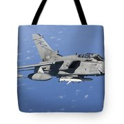 An Italian Air Force Tornado Ids Armed Tote Bag