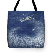 An Mh-60s Knight Hawk Prepares Tote Bag by Stocktrek Images