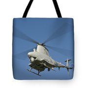 An Mq-8b Fire Scout Unmanned Aerial Tote Bag