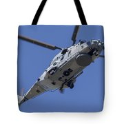 An Nh90 Helicopter Of The French Navy Tote Bag