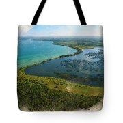 An Oasis On The Prairie Tote Bag