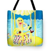 An Octopus Summerhouse Tote Bag