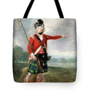 An Officer Of The Light Company Of The 73rd Highlanders Tote Bag