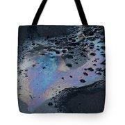An Oil Slick On A Cobblestone Road Tote Bag