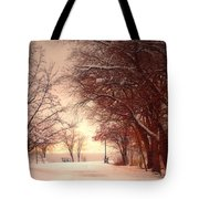 An Okanagan Winter Tote Bag