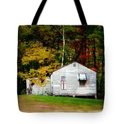 An Old Abandoned House Tote Bag