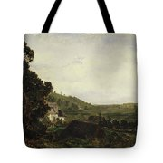 An Old Chapel In A Valley Tote Bag