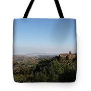 An Old House In The Tuscany Hills Tote Bag