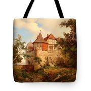 An Old Hunting Lodge Tote Bag