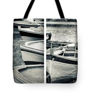 An Old Man's Boats Tote Bag