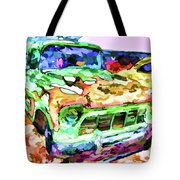 An Old Pickup Truck 1 Tote Bag
