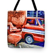 An Old Pickup Truck 2 Tote Bag