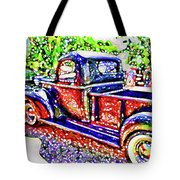 An Old Pickup Truck 3 Tote Bag