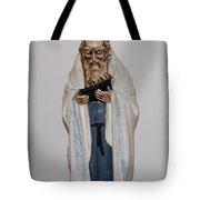 An Old Rabbi Tote Bag