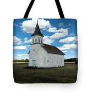 An Old Wooden Church Tote Bag