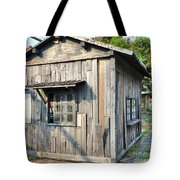 An Old Wooden Shack Tote Bag