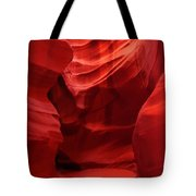 An Orange Chamber Antelope Canyon Tote Bag