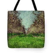 An Orchard In Blossom In The Eila Valley Tote Bag