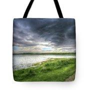 An Ordinary British Sky Tote Bag