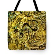 An Unconvincing Disguise. Sea Snake. Tote Bag