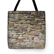 An Uneven Rock/stone/brick Wall Tote Bag