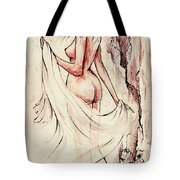 An Unexpected Visit Tote Bag