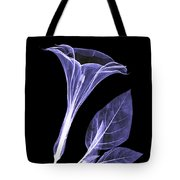 An X-ray Of A Datura Flower Tote Bag