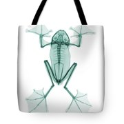 An X-ray Of A Flying Frog Tote Bag