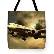 Ana Boeing 773 Ja784a Tote Bag