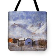 Anaktuvuk - Eskimo Village Tote Bag